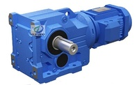 K helical  bevel gear reducer
