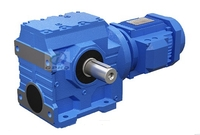 S helical  worm gear reducer